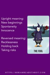 fool major arcana