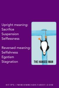 hanged man arcana