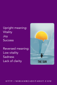 sun major arcana