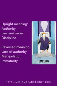 emperor major arcana