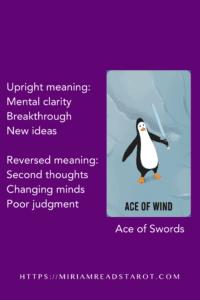 ace of swords minor arcana tarot