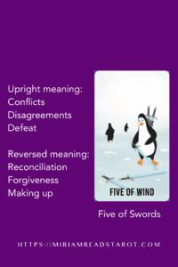 five of swords minor arcana tarot