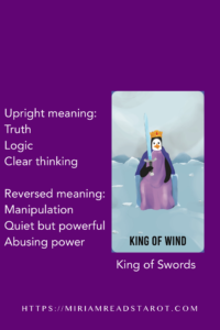 king  of swords minor arcana tarot