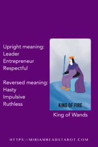 king of wands tarot minor arcana