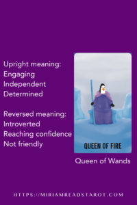 queen of wands tarot minor arcana