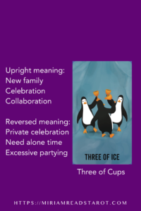 three of cups tarot minor arcana