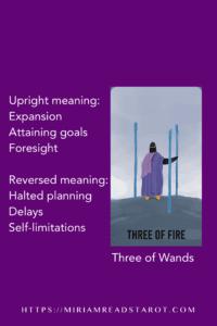 three of wands tarot minor arcana