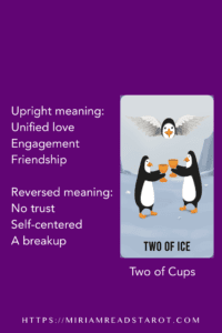 two of cups tarot minor arcana