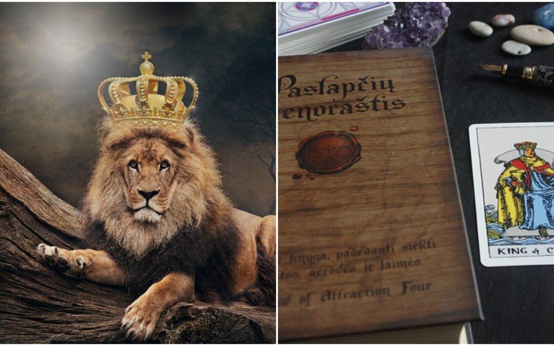 tarot cards king