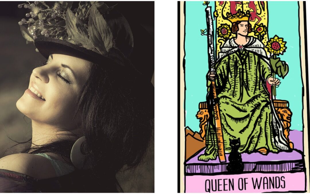 queens and tarot