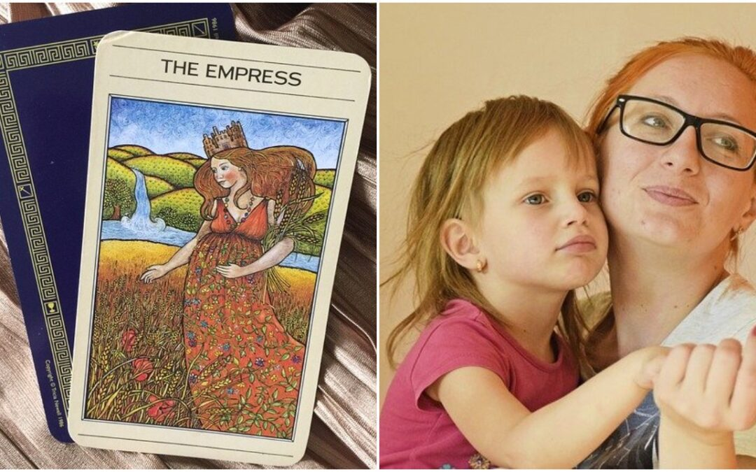 Empress And Three Of Swords: Motherhood And Depression